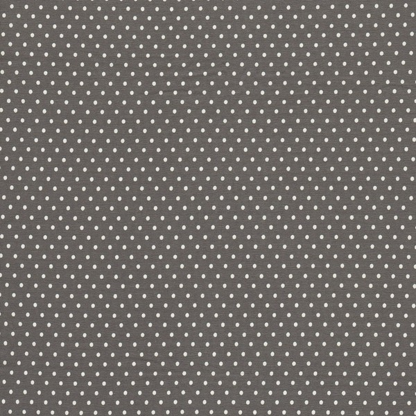 05m Jersey Jerseydots Mini Punkte grau - 1