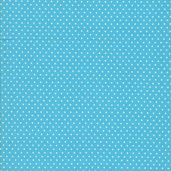 0,5m Jersey Jerseydots Mini Punkte grau weiß - 2