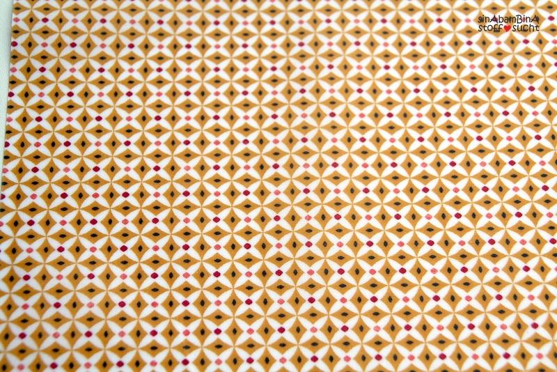 05m Beschichtete Baumwolle PU Retro braun - 1