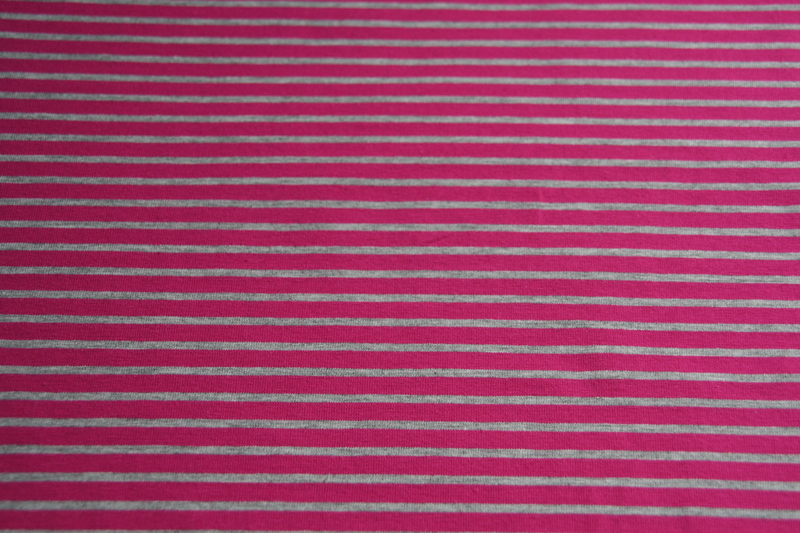 0 5m Ringel Jersey Streifen grau pink Madita