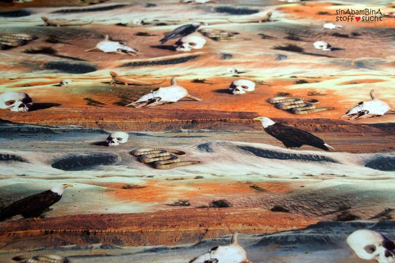 05m Jersey Digitaldruck Unter Geiern Wüste - 4