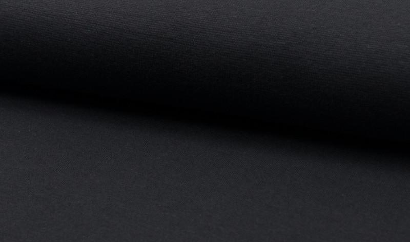 05m Bündchen grau steingrau glatt - 1