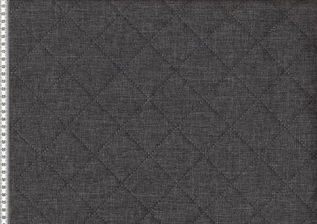 05m Taschenstoff Moskau Stepper Canvas dunkelgrau - 1
