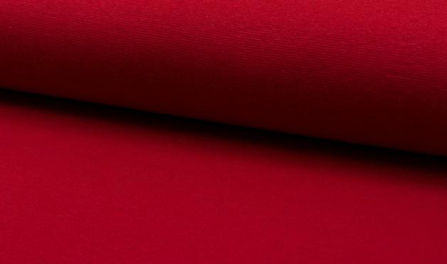 05m Bündchen glatt rot red ruby