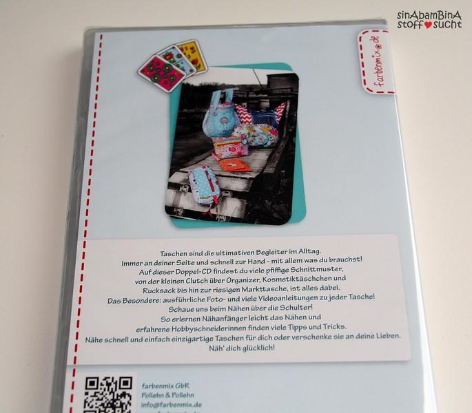 Taschenspieler CD 2 Naehanleitung Taschen Farbenmix
