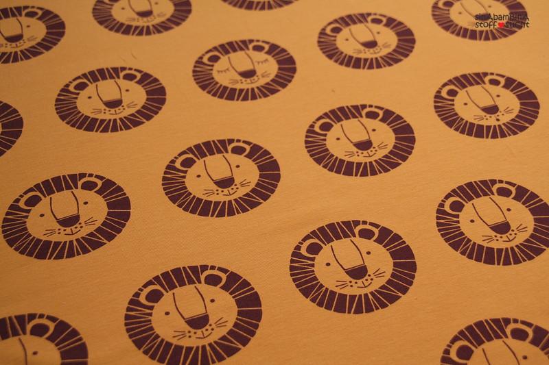 0 5m Lillestoff Jersey Loewe Bo senf braun retro