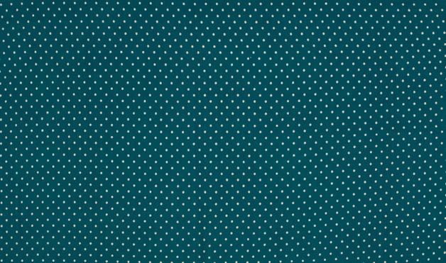 0 5m Jersey Dots Mini Punkte petrol weiss