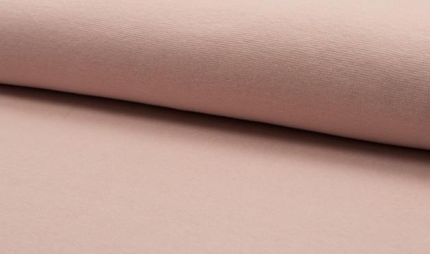 05m Bündchen glatt salmon lachs rosa - 1