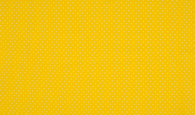 0 5m Jersey Dots Mini Punkte gelb weiss