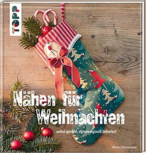 Buch Nähen für Weihnachten: selbst genäht