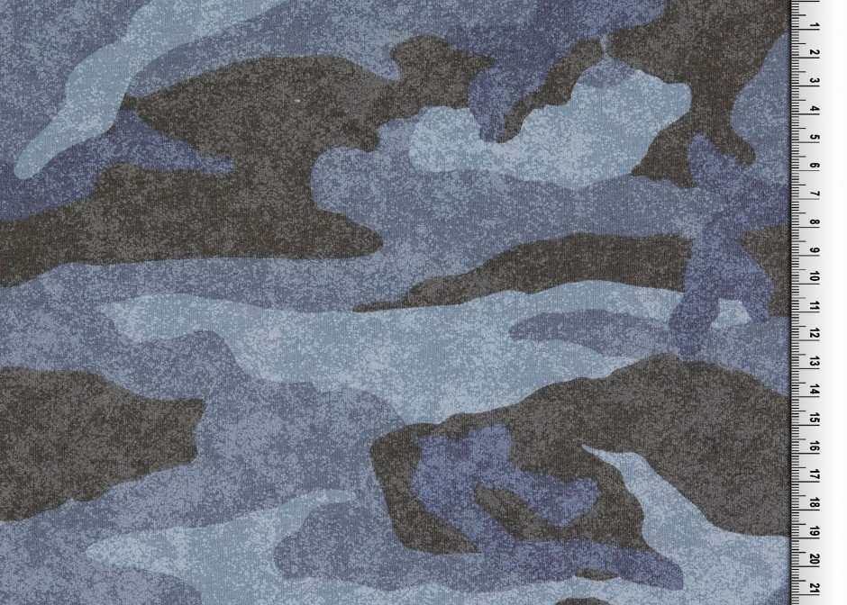 05m Sweat Camouflage Vinatge blau blue