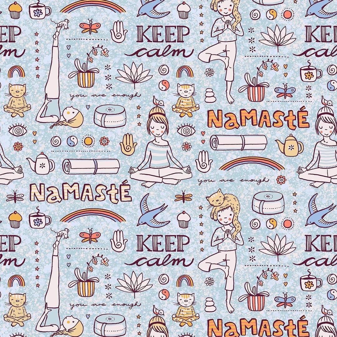 025m BW Yoga by susalabim hellblau