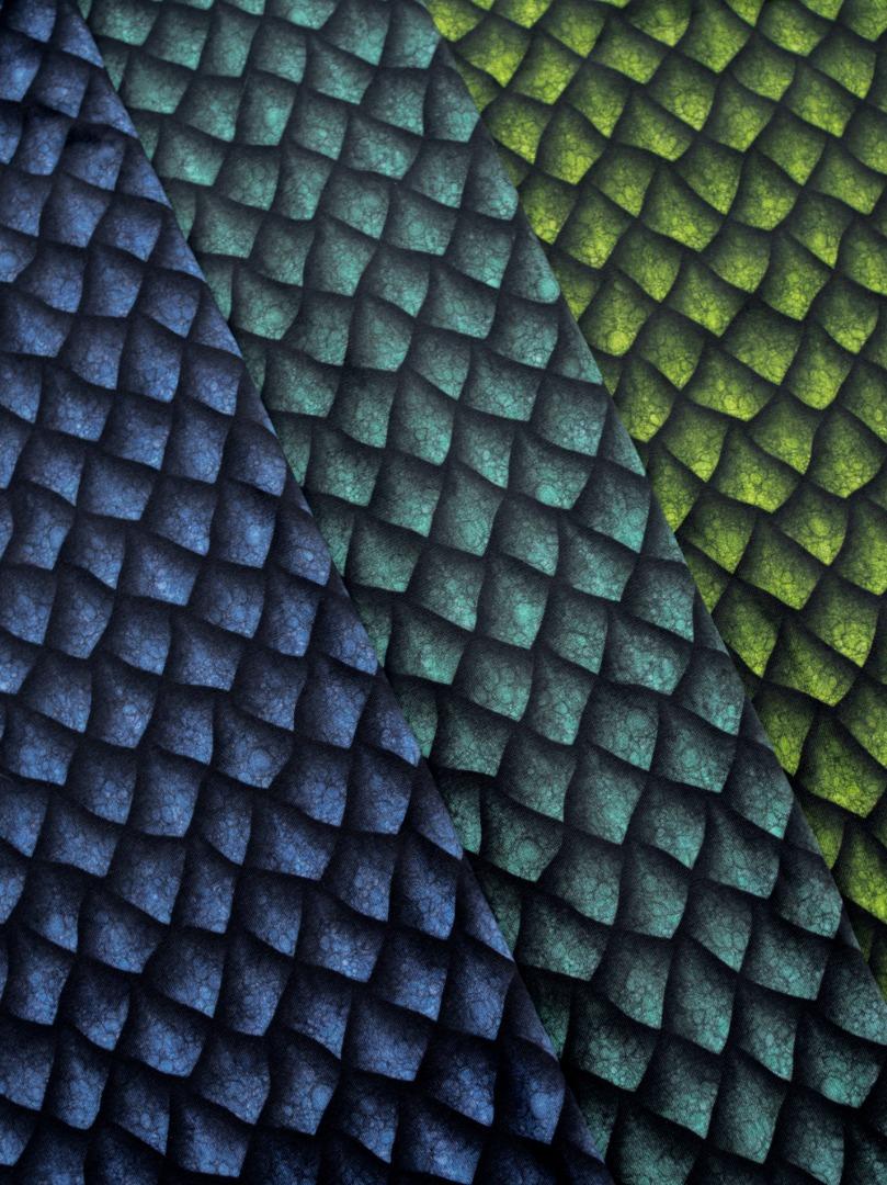 05m Jersey Drogon mit Drachenschuppen grün