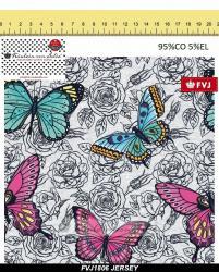 05m Jersey Butterfly Schmetterling von Fräulein