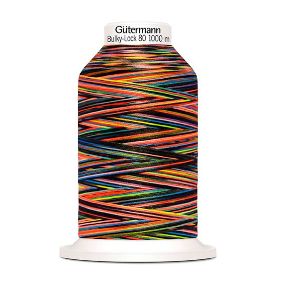 Stück Gütermann Miniking Overlockgarn Multicolor 1000m