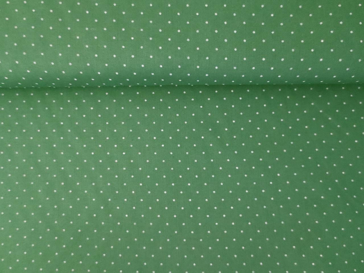 05m BW XS Punkte Dots dunkelgrün