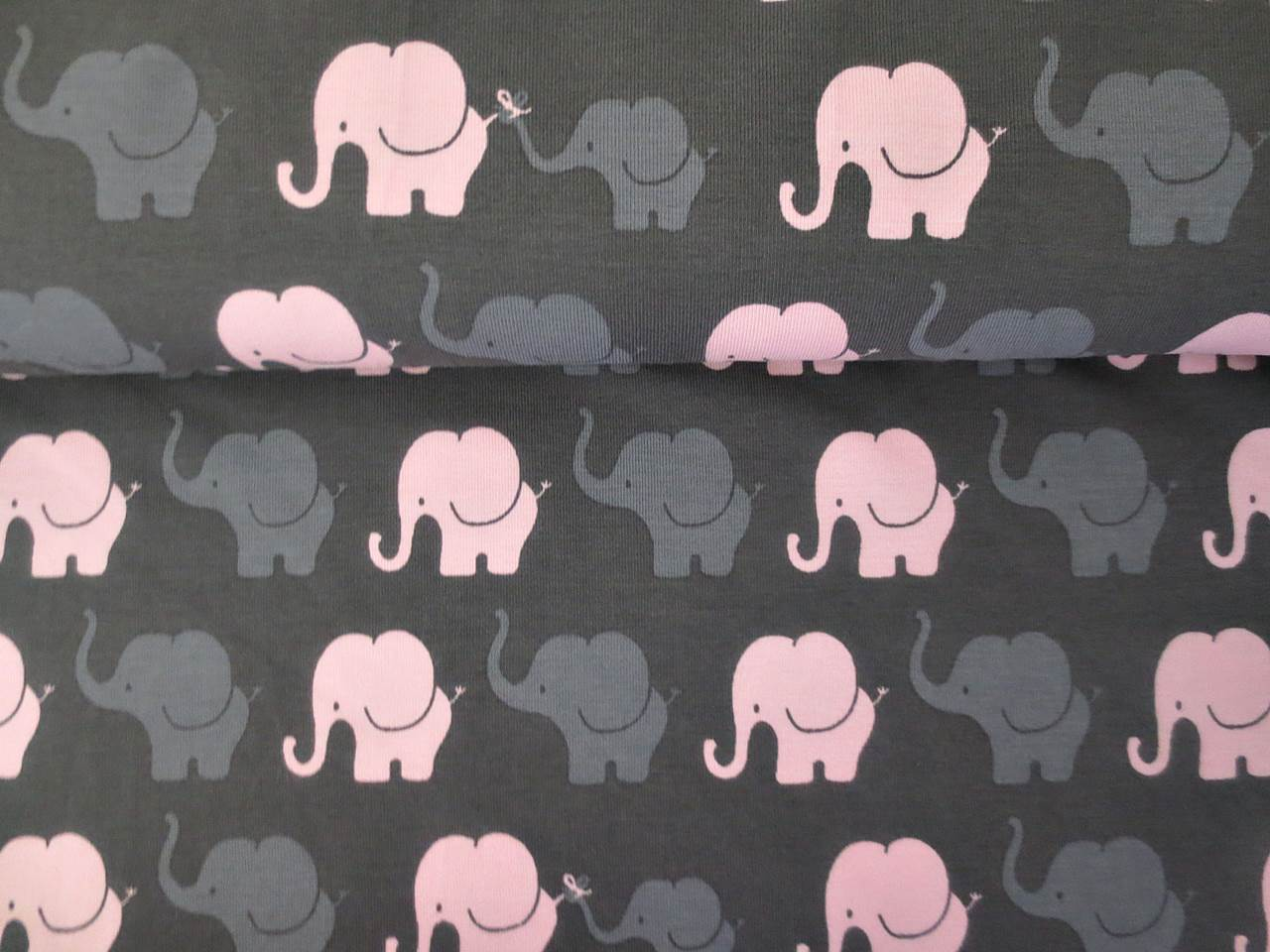 05m Jersey Elephant Parade Elefanten taupe