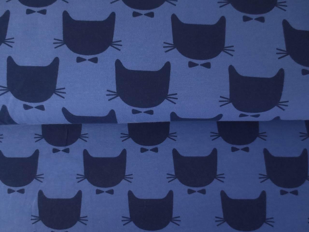 05m Jersey Katzenköpfe mit Schleife 2