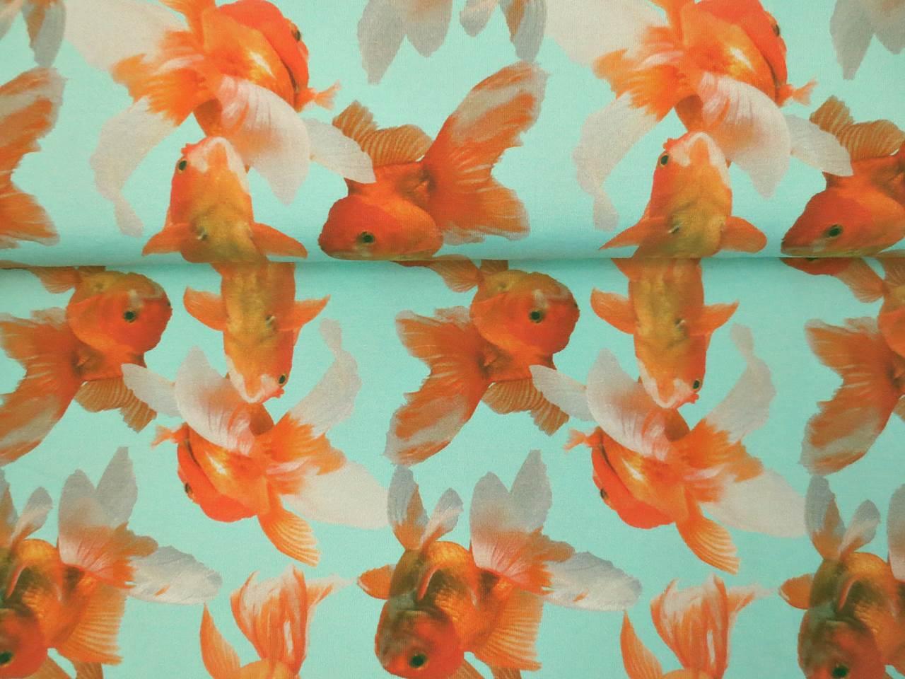 05m Jersey Goldfische mint orange