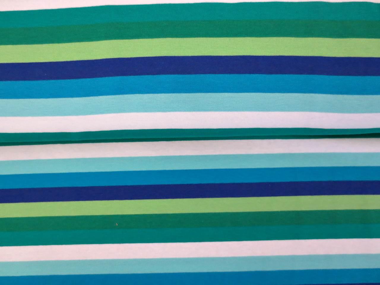 05m Jersey Stripes Streifen weiß schilf