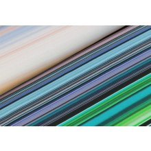 05m Jersey Streifen Multicolor seegrünmix