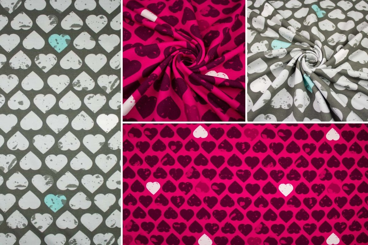 05m Jersey Big Hearts by Petra