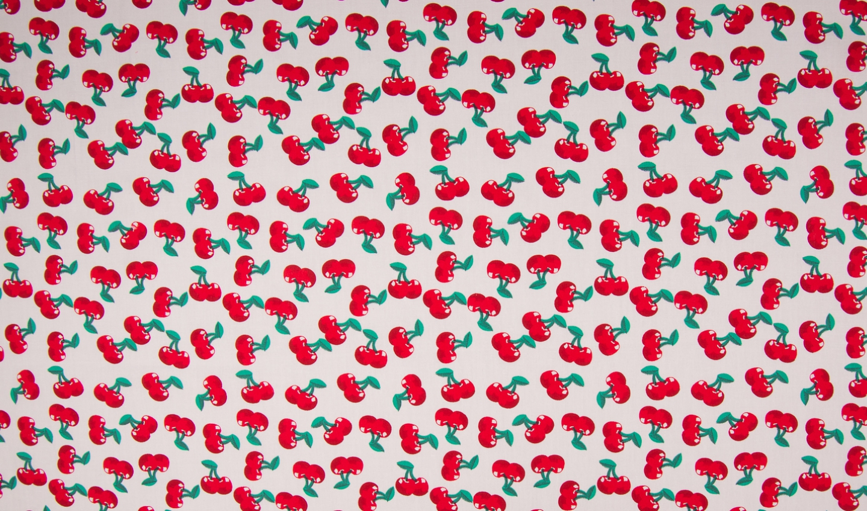 05m BW Cherry Kirschen schwarz rot
