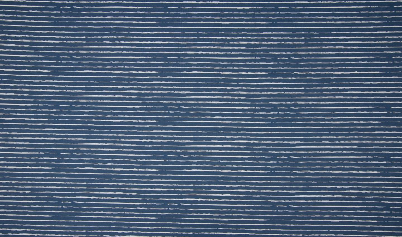 05m BW Unregelmäßige Streifen jeansblau weiß