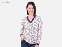 1Stk Grace Shirt Kleid Papier Schnittmuster