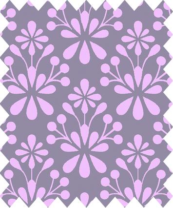 05m BW Light Breeze Kleines Blumenornament