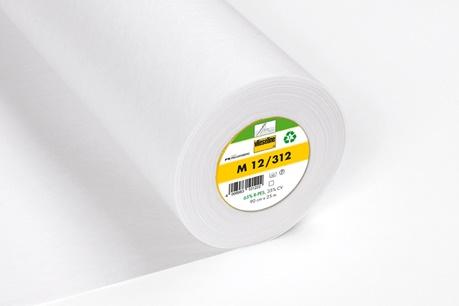 05m Näheinlage M12 Vlieseline weiß