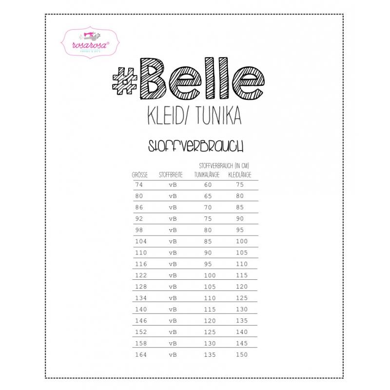 1Stk Belle Kleid doer Tunika Papier