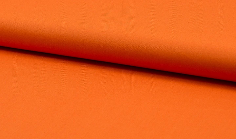 05m Baumwolle Uni orange 033