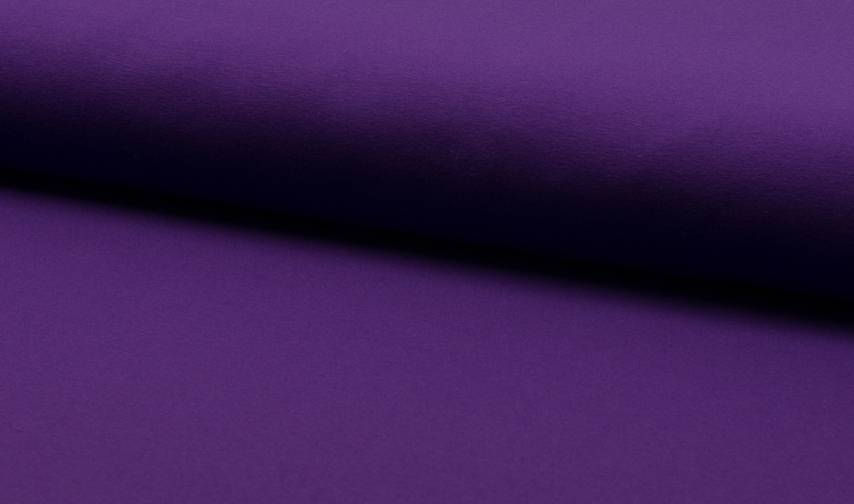 05m Jersey uni purple dunkellila violett