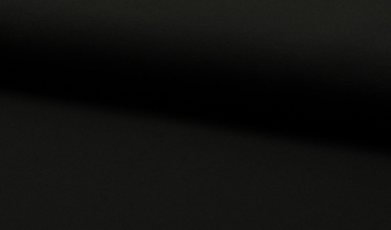 05m Jersey uni schwarz