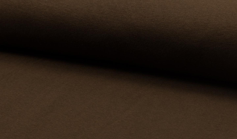 05m Bündchen glatt dunkelbraun 058