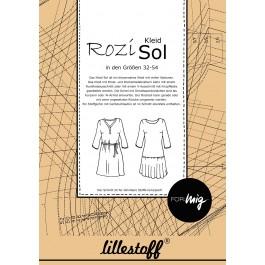 1Stk Sol Kleid Papier Schnittmuster Rozi
