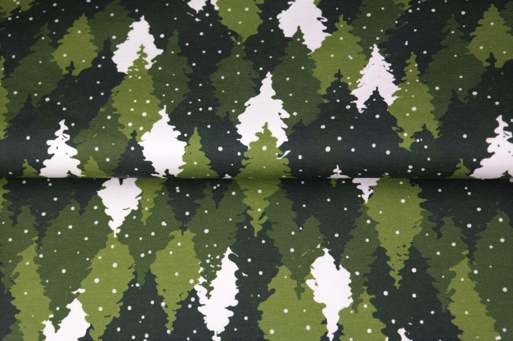 05m Sweat Wald Bäume Kombistoff Eule