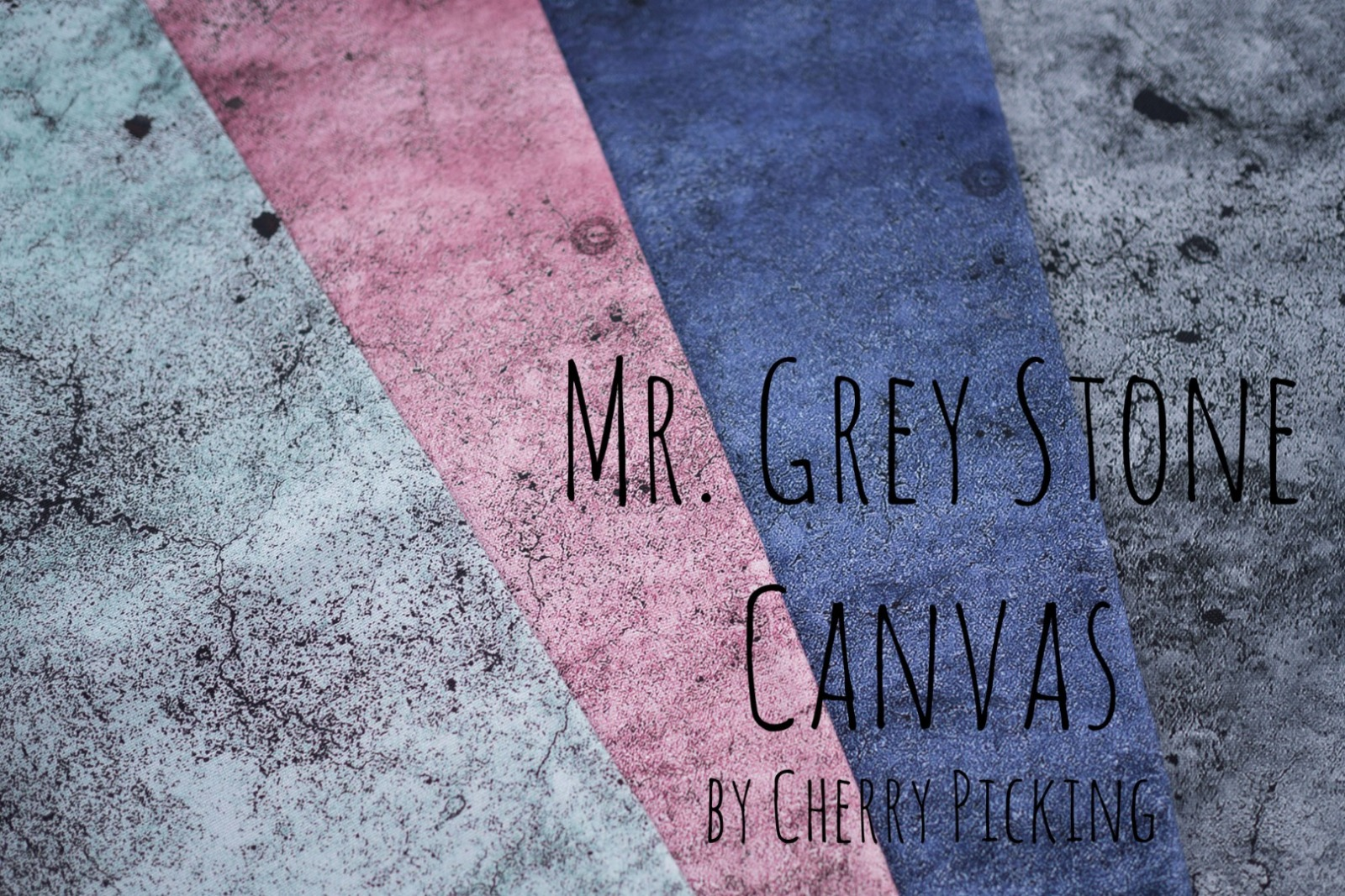 05m Canvas Mr Grey Stone by