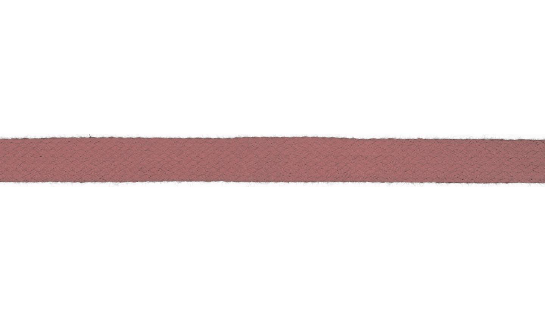 1m Baumwollkordel 12mm flach old rose