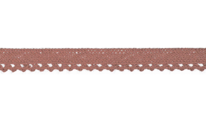 1m Baumwollspitze Häkelspitze 10mm breit old