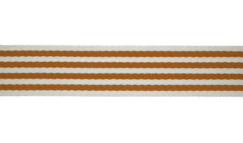 1m Gurtband mm Stripe inca gold