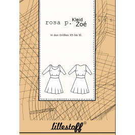 1Stk Zoe Kleid Papier Schnittmuster by