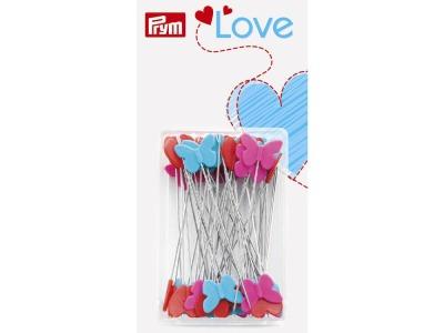 1Stk Stecknadeln mit Kunststoffkopf Prym Love