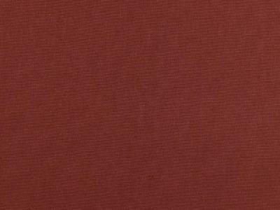 05m Canvas Uni terracotta rotbraun Auch