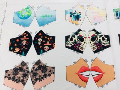 Panel Masken for Woman Baumwolle weitere