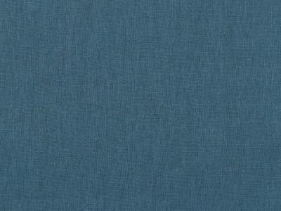 05m Leinen gewaschen blue shadow dusty