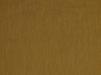 05m Leinen gewaschen Mustard