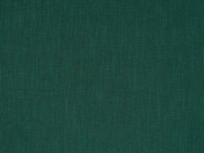 05m Leinen gewaschen dunkles grün
