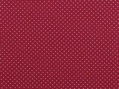 05m BW himbeere Minipunkte Petit Dots